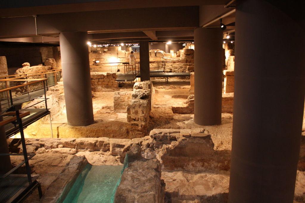Musee d'Histoire de Barcelone en Espagne