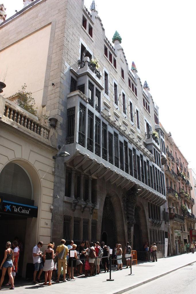 Palais Guëll à Barcelone en Espagne