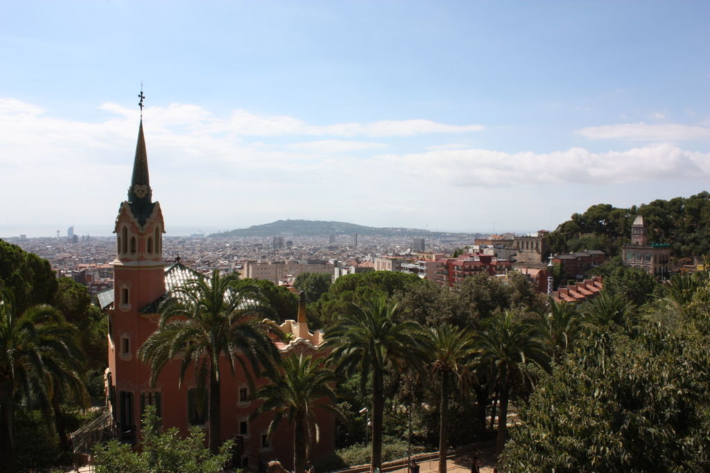 Le parc Guëll à Barcelone