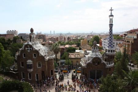 La parc Guëll de Barcelone