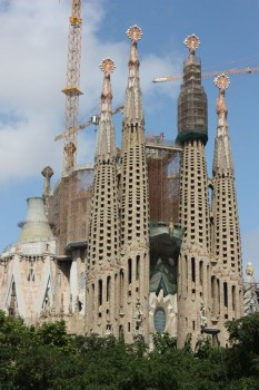 La Sagrada Familia à Barcelone en Espagne