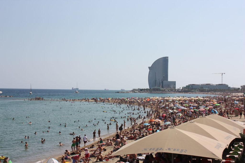 Barceloneta en Espagne