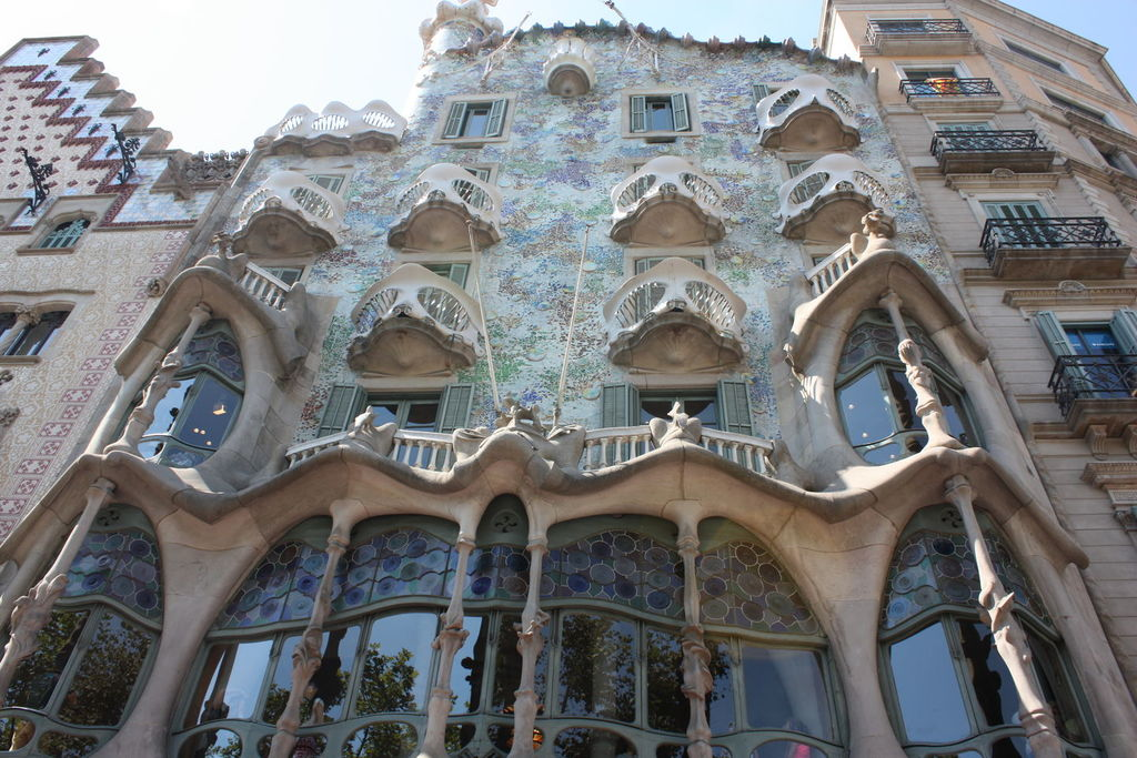 Casa Batllo à Barcelone en Espagne