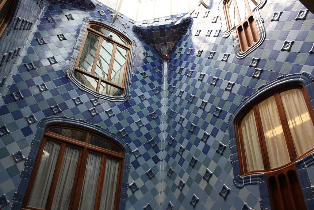 L'intérieur de la Casa Batllo à Barcelone