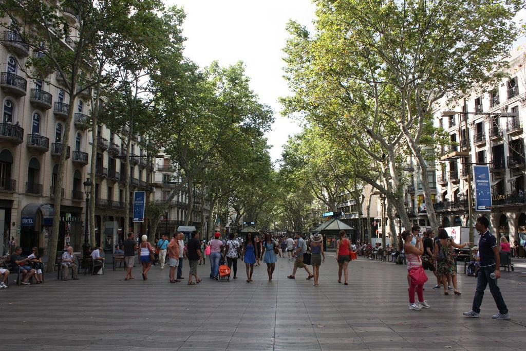 La Rambla de Barcelone