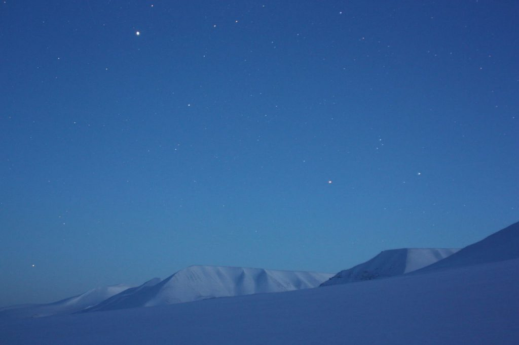 Ballade en Raquette au Svalbard