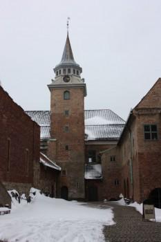 Chateau de Akershus à Oslo en Norvège