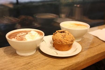 Café Kaffebrenneriet à Oslo
