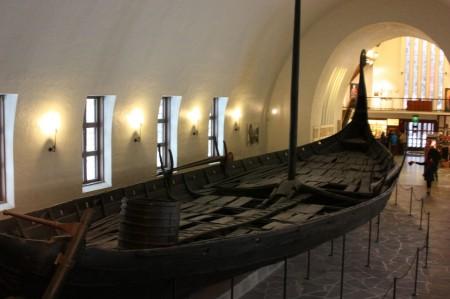 Musée des bateaux Viking à Oslo en Norvège
