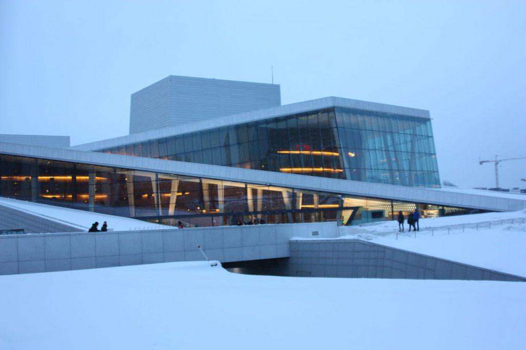 Opéra d'Oslo en Norvège