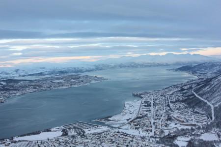 Les Cable Car à Tromso en Norvège