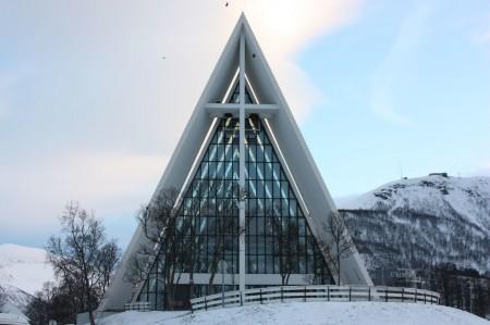 La Cathedrale Articque de Tromso en Norvège