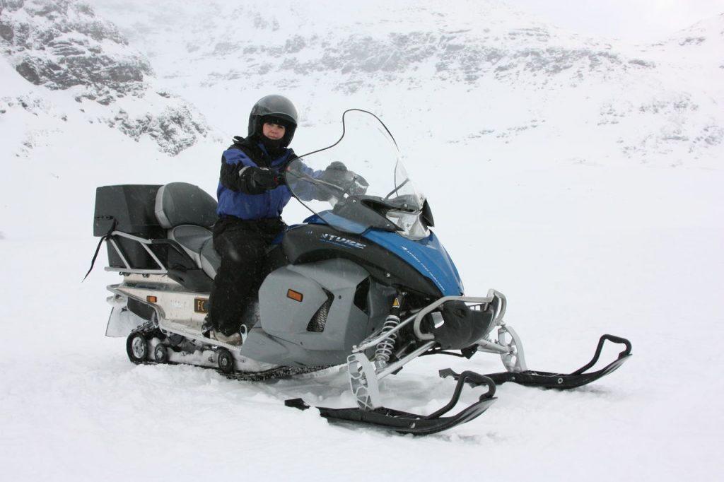 Activité de Moto Neige au départ de Tromso