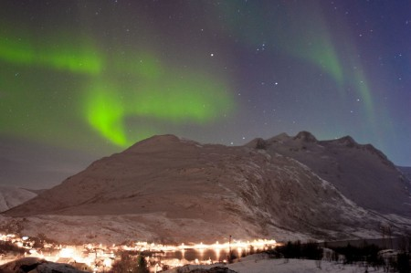 Northern Lights près de Tromsø