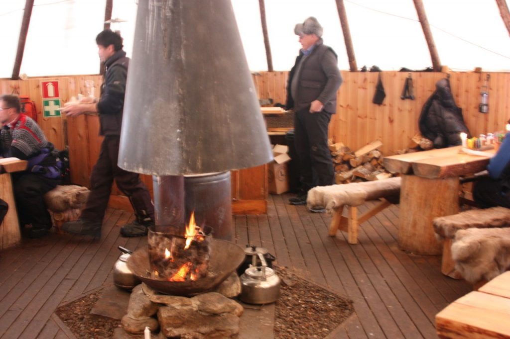 Camp Tamok près de Tromso
