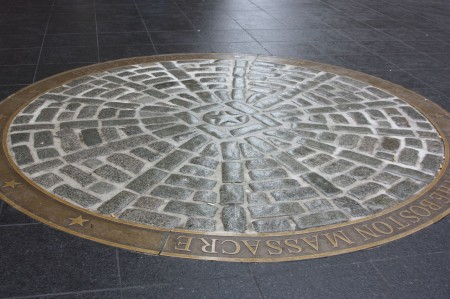 Massacre de Boston, place historique