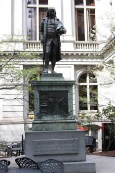 Statue de Benjamin Franklin à Boston
