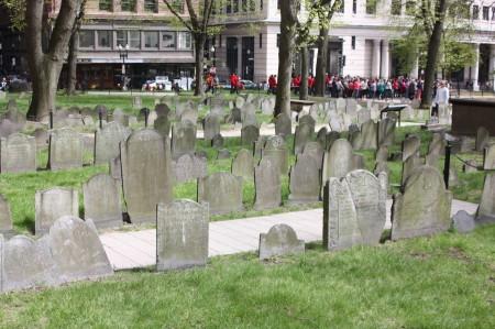 Granary Burying Ground à Boston