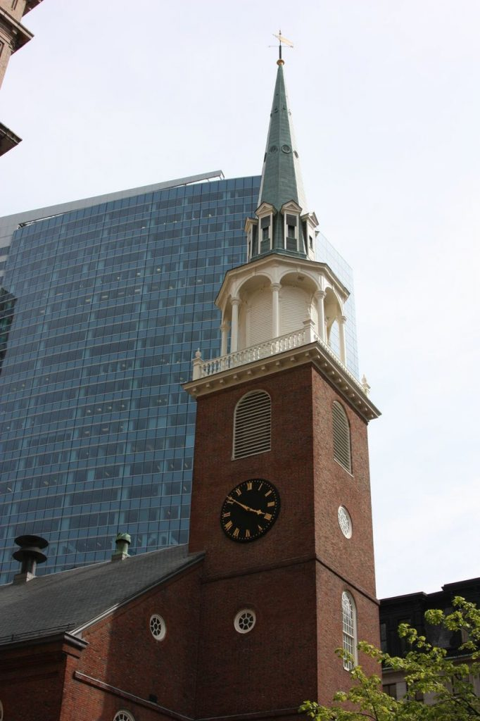 Old South Meeting House à Boston aux USA