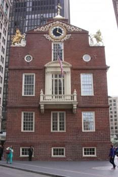 Old State House à Boston aux Etats-Unis