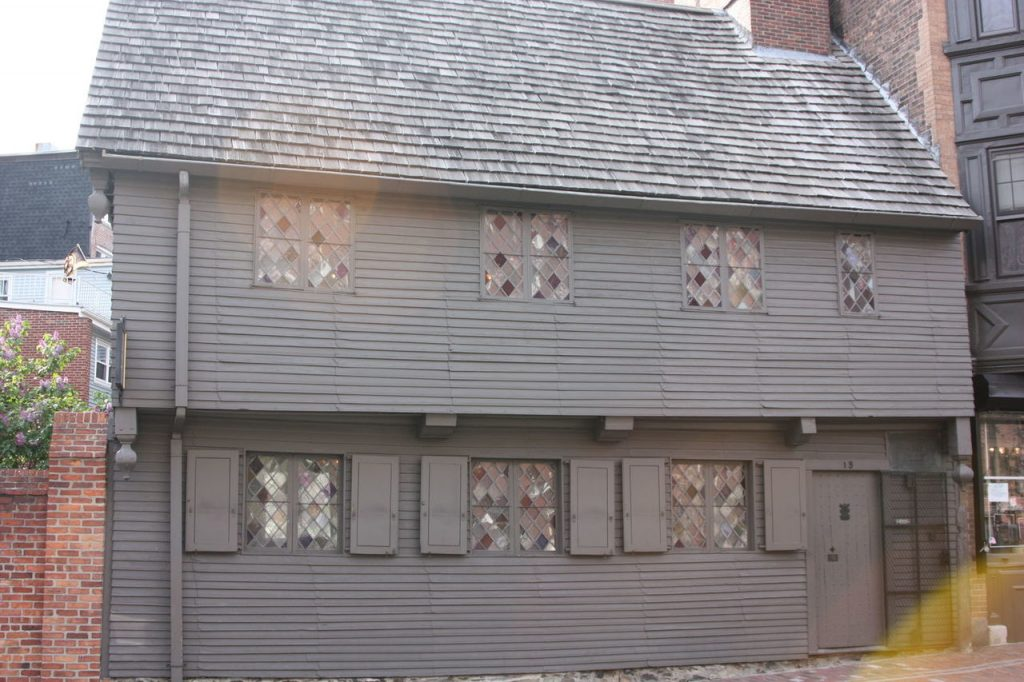 Maison de Paul Revere à Boston