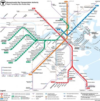 Subway Boston