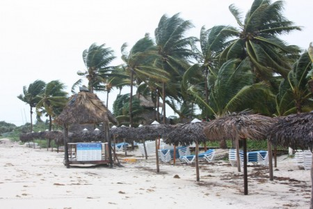 Tstorm à Cayo Coco à Cuba
