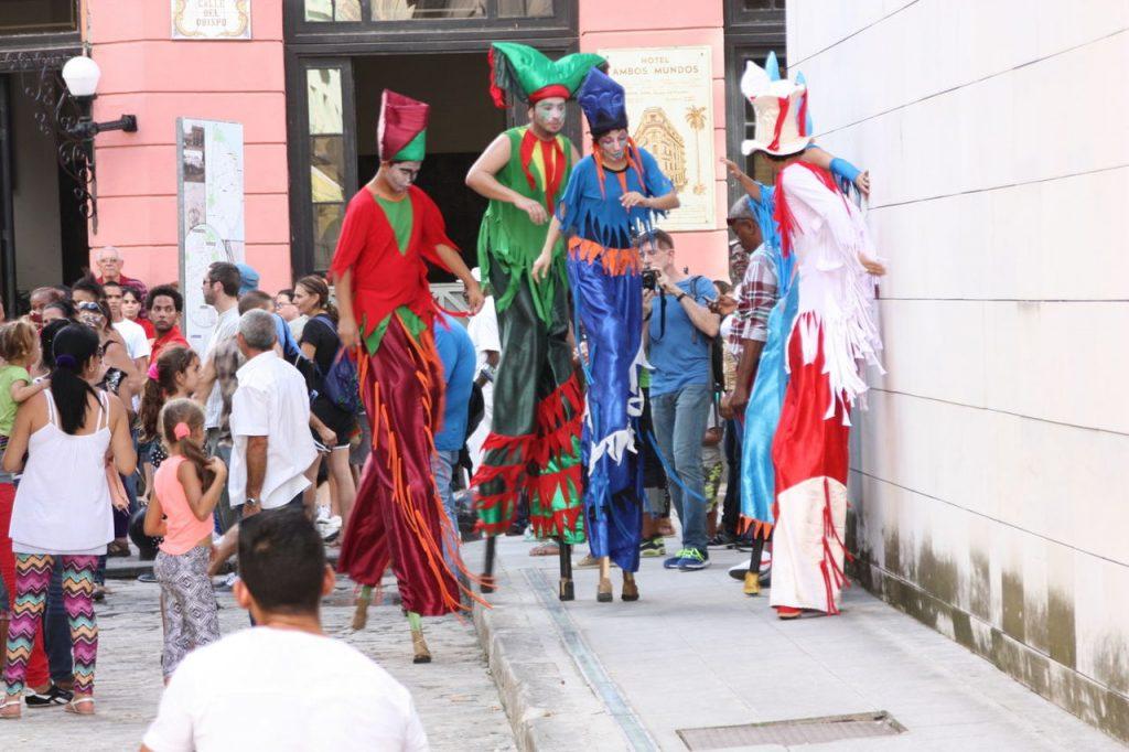 Calle Obispo à Cuba