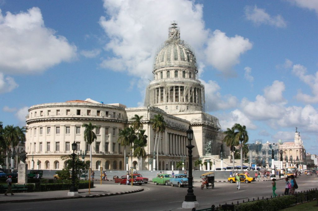 Le Capitole à Cuba