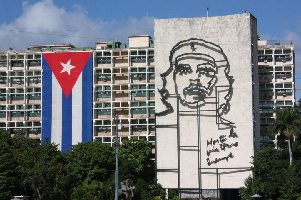 La Plaza de la Revolucion à Cuba