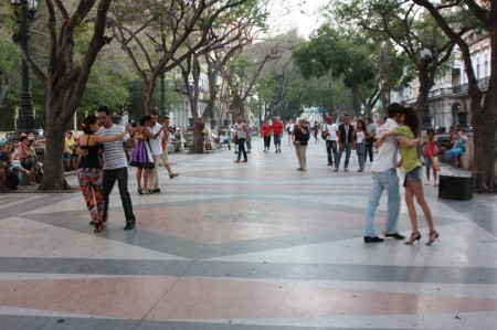 Le Prado à Cuba