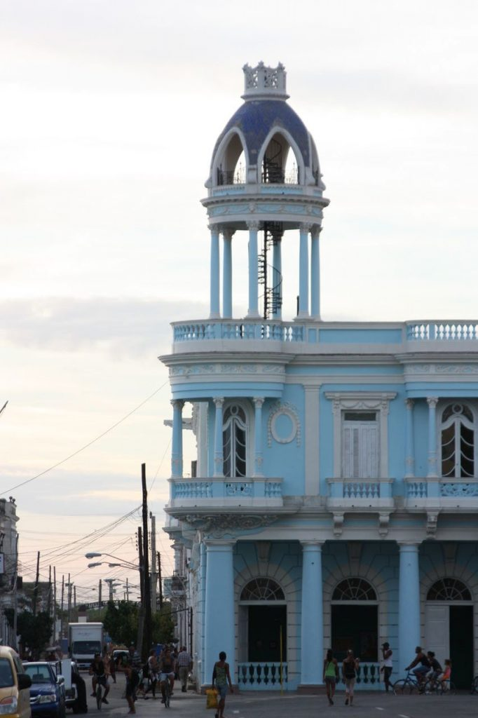 Beau Palais à Cienfuegos à Cuba