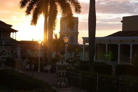 Plaza Mayor de Trinidad à Cuba