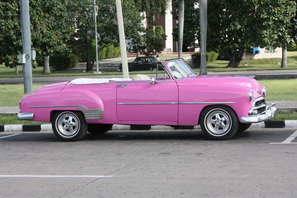 Les voitures américaines à Cuba
