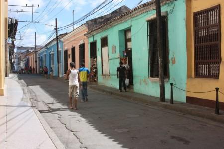 Les rues de Santiago de Cuba
