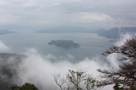 Japon Myajima Mont Misen
