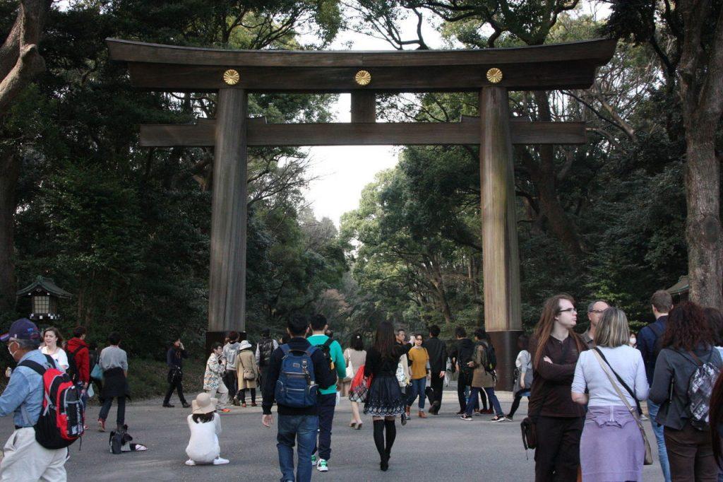 le sanctuaire Shinto de Meji Jingu
