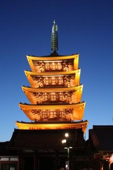 Le temple Senso Ji à Tokyo