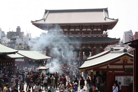 Le  temple Senso Ji au Japon