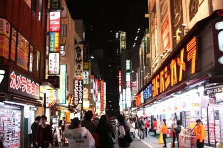 Le quartier d'Akihabara à Tokyo au Japon