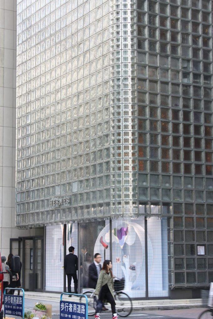 La tour Hermés de Tokyo au Japon
