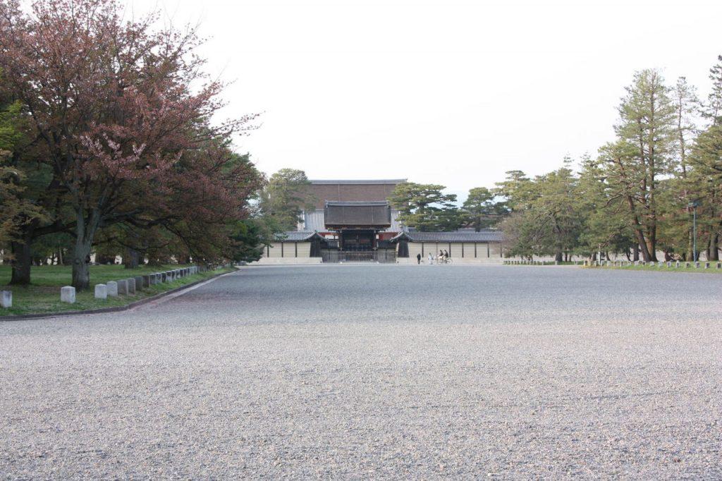 Les jardins du Palais Impérial de Kyoto au Japon