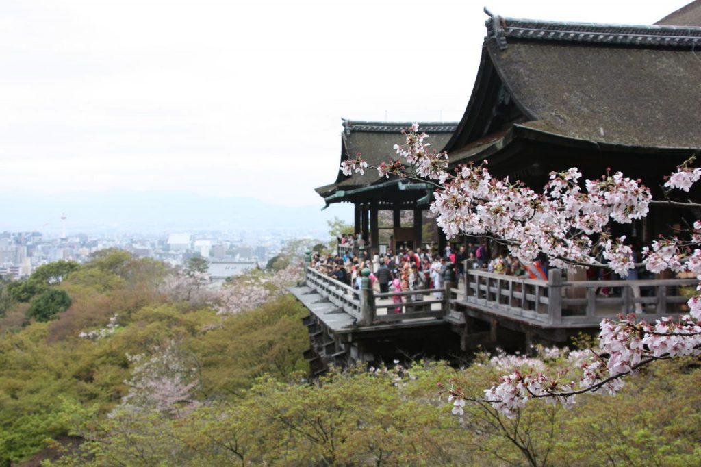 Kiyomizu-dera à Kyoto au Japon