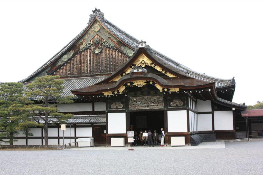 Nijo-jo à Kyoto au Japon