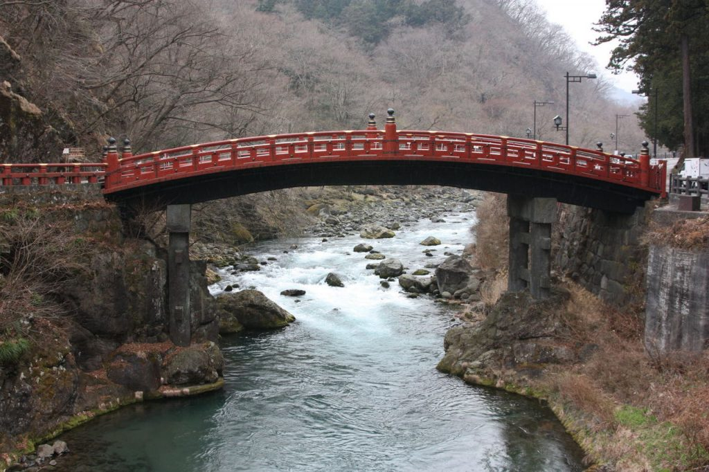Le Pont de Shinkyo à Nikko