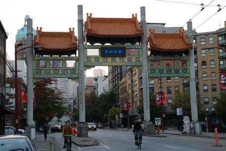 Millennium Gate à Vancouver au Canada