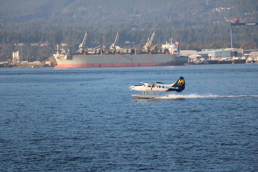 Coal Harbour à Vancouver au Canada