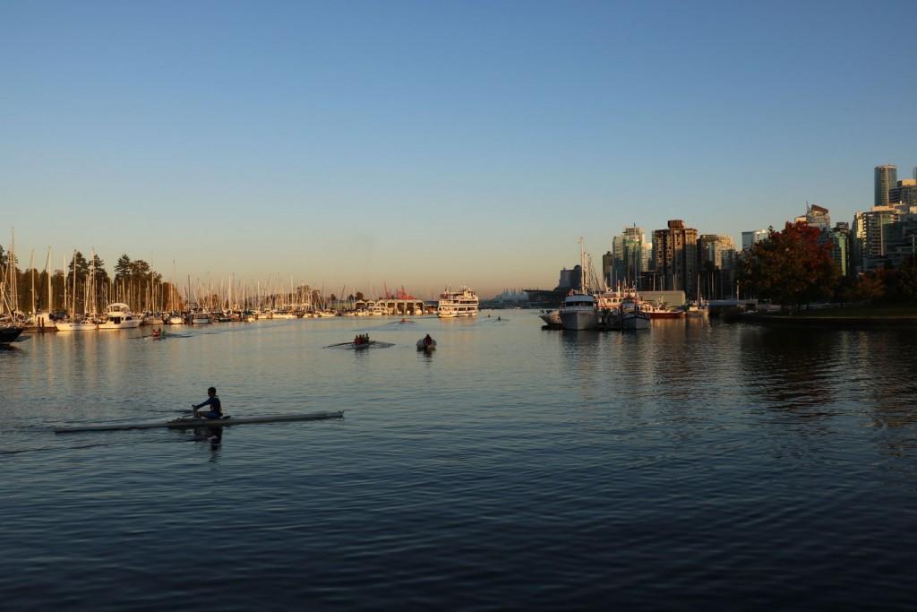 Stanley Park à Vancouver au Canada