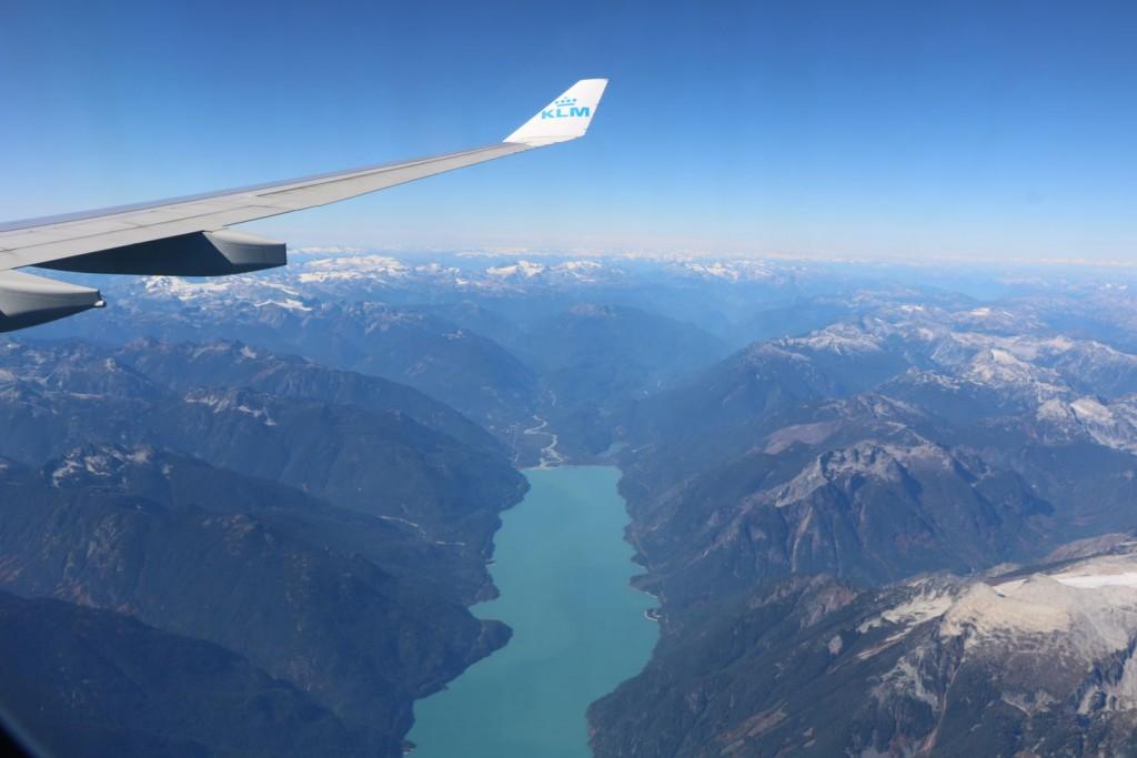 Le Canada vu du ciel !