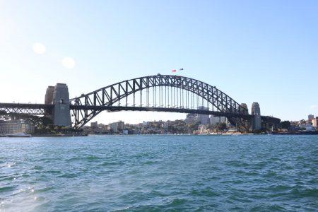 Harbour Bridge à Sydney en Australie